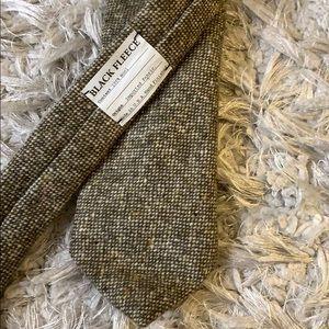 💯  wool tweed Brooks Brothers tie